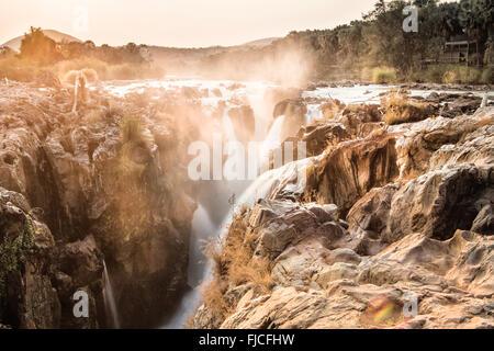 Cascata di Epupa Foto Stock
