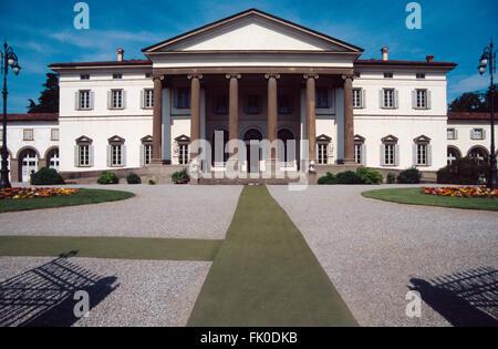 Villa Zanchi, Stezzano, Italia Foto & Immagine Stock