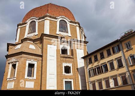 La Basilica di San Lorenzo (Basilica di San Lorenzo in Firenze Foto Stock