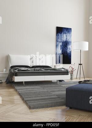 In legno classico design parquet, cubetti di volume illusione ...