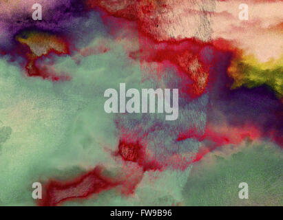 Abstract moderno graphic design arte digitale concept creativo Foto Stock
