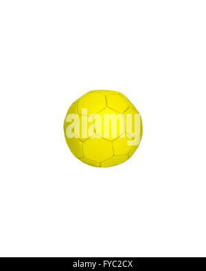 La sfera. Isolato su sfondo bianco. Foto Stock