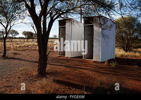Il lago di Mason abbandonato outback homestead, Midlands centrale Australia Occidentale Foto Stock