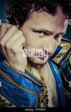 Il principe azzurro, royal concetto, divertenti immagini di fantasia