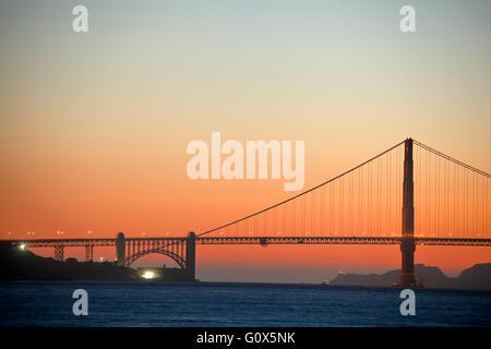 Golden Gate Bridge di San Francisco, California USA