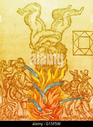 Il Grande Incendio di Londra, 1666. La catastrofe si è verificata durante la Gemini il mese, qui rappresentata in Foto Stock