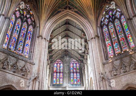 Plafoniera Tetto : Cattedrale di ely plafoniera tetto foto immagine stock