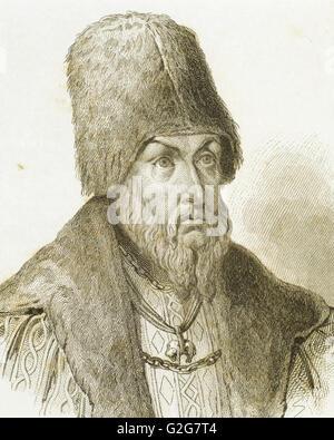 Sigismondo I il Vecchio (1467-1548). Re di Polonia e granduca di Lituania. Ritratto. Incisione del XIX secolo.