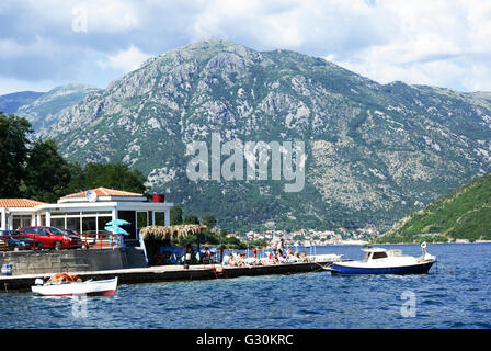 Baia di Kotor, Montenegro Foto Stock