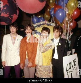 Beatles 1967 Foto Stock
