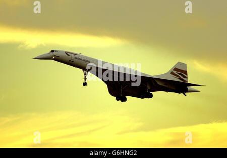 Concorde Foto Stock