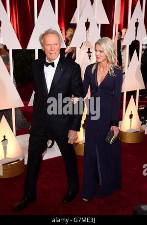 La 87th Academy Awards - Gli arrivi - Los Angeles Foto Stock