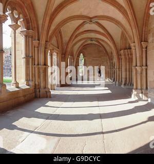 Il chiostro del monastero di Maulbronn, Foresta Nera, Baden-Württemberg, Germania