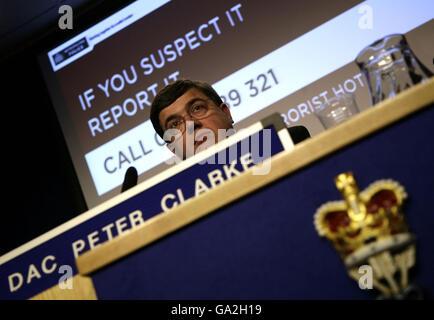 """""""Dispositivo esplosivo"""" trovata nel centro di Londra Foto Stock"""