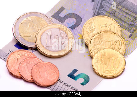 8,84 Euro salario minimo in Germania Foto Stock