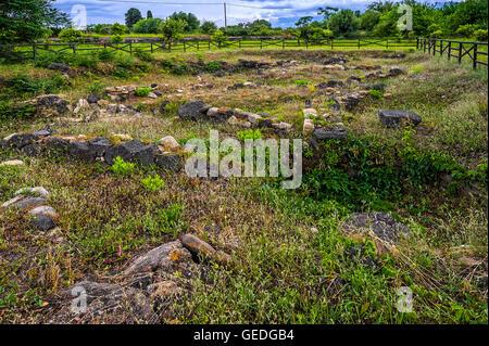 Italia Sicilia Giardini Naxos - area archeologica di Naxos