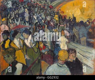 Vincent van Gogh scuola olandese Arena di Arles 1888 olio su tela (73 x 92 cm) di San Pietroburgo, Museo Hermitage Foto Stock
