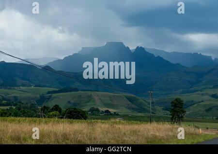 Royal Natal National Park di Drakensberg, Sud Africa Foto Stock