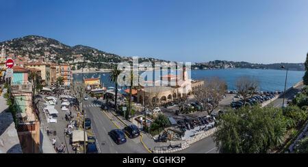 Villefranche Sur Mer, Alpes-Maritimes, Provence-Alpes-Côte d'Azur, in Francia Foto Stock