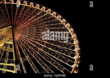 Parrocchia luci fiera Fiera Foto Stock