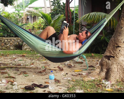 Relax tropicale Foto Stock