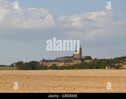 Convento Banz, Alta Franconia, Baviera, Germania Foto Stock