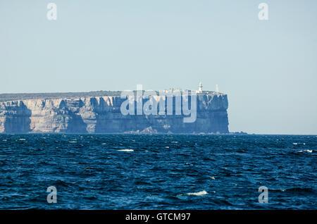 Vista del punto perpendicolare attraverso Jervis Bay, Nuovo Galles del Sud, NSW, Australia Foto Stock