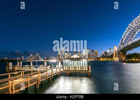 Jeffrey Street Pier, il Porto di Sydney