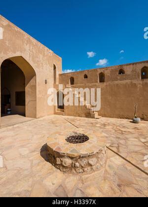 Il castello di Jabrin, fort, Jabreen, Bahlat, Ad Dakhiliyah, Oman Foto Stock