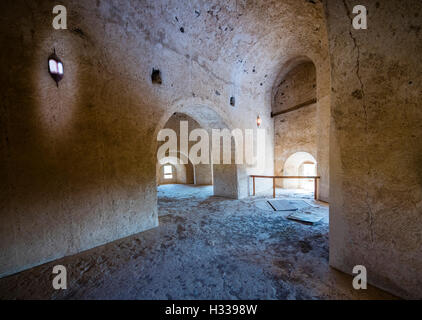 Il castello di Jabrin, pareti, Jabreen, Bahlat, Ad Dakhiliyah, Oman Foto Stock