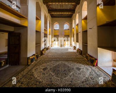 Il castello di Jabrin, Jabreen, Bahlat, Ad Dakhiliyah, Oman Foto Stock