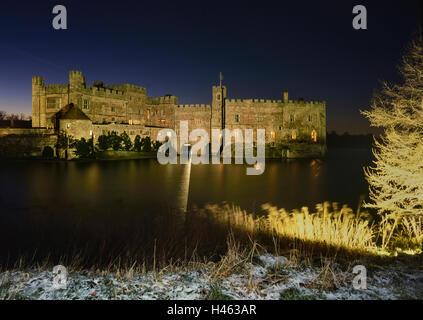 Il Castello di Leeds. Kent. In Inghilterra. Regno Unito Foto Stock