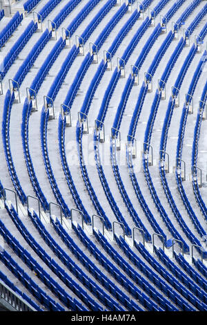 Sorge stadio Camp Nou, Barcellona, Spagna, Europa Foto Stock