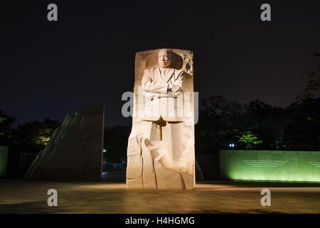 WASHINGTON DC - 2 settembre: Martin Luther King Jr monumento commemorativo il 2 settembre 2015 a Washington, DC.