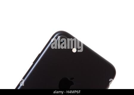 Dettaglio Colpo Di Apple Iphone 7 Fotocamera Posteriore Tutto Su