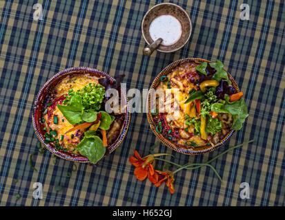 Maccheroni e formaggio Foto Stock