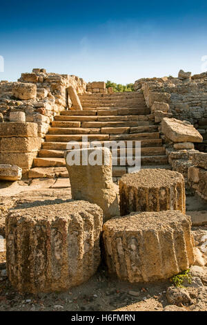 Carteia Sito Archeologico VII secolo a.c. include rimane da Fenici, Cartaginesi, Romani, visigota Andalusia Spagna Foto Stock