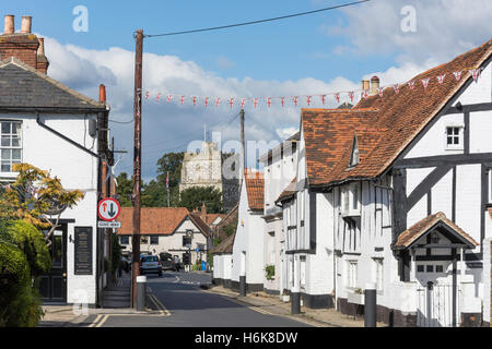High Street, Bray, Berkshire, Inghilterra, Regno Unito Foto Stock