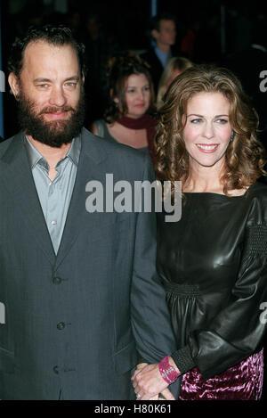 TOM HANKS E RITA WILSON MIGLIO VERDE PREMIER DI LOS ANGELES USA 11 Dicembre 1999