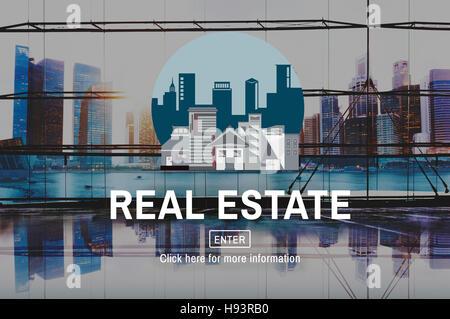 Architettura Real Estate Building Concept Foto Stock