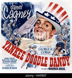 YANKEE DOODLE DANDY 1942 Warner Bros film con James Cagney Foto Stock
