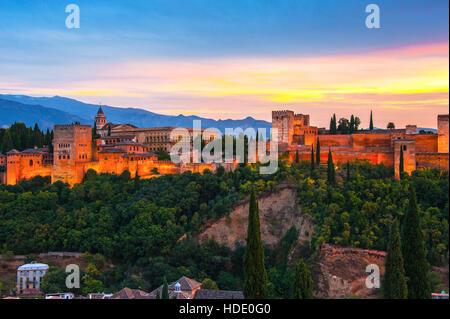 Granada, Spagna Foto Stock