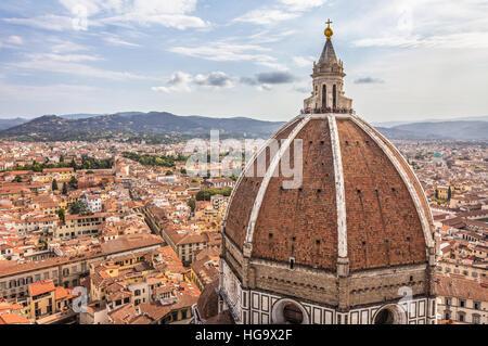 Bella vista di Firenze Italia Foto Stock