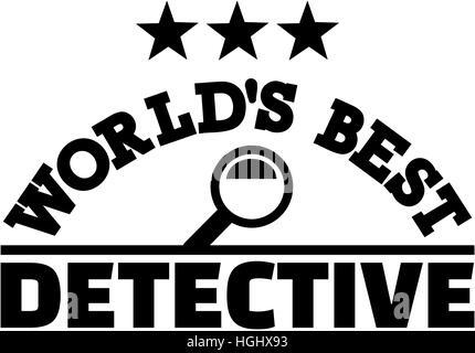 I Migliori Del Mondo Detective Illustrazione Vettoriale 130499223