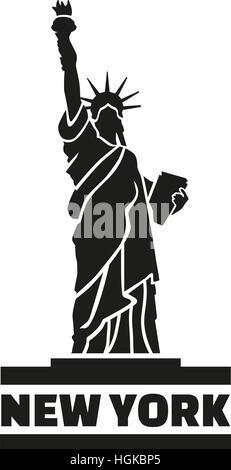 Statua della Libertà di New York Foto Stock