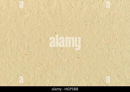 Cartone Beige riso arte trama della carta, orizzontale luminosa vecchio ruvide testurizzate riciclata vuoto vuoto Foto Stock