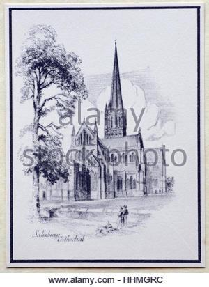 La Cattedrale di Salisbury 1938, Inghilterra