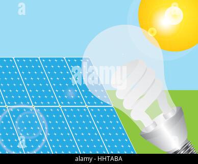 Energia, Potenza, elettricità, energia elettrica, lampadina, lampadina, solare,
