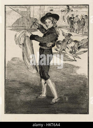 Edouard Manet (1832-1883) - Vincenzo Meurand en Costume d'Espada Foto Stock