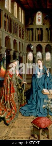 Eyck, Jan van - l'Annunciazione Foto Stock